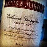 Napa Valley – 2009 Louis M. Martini CabernetSauvignon