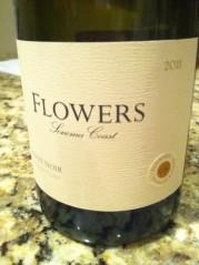 Flowers 2011 Sonoma Coast Pinot Noir