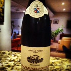 Famille Perrin Chateauneuf du Pape 2009